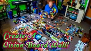 Create A Vision Board Wall