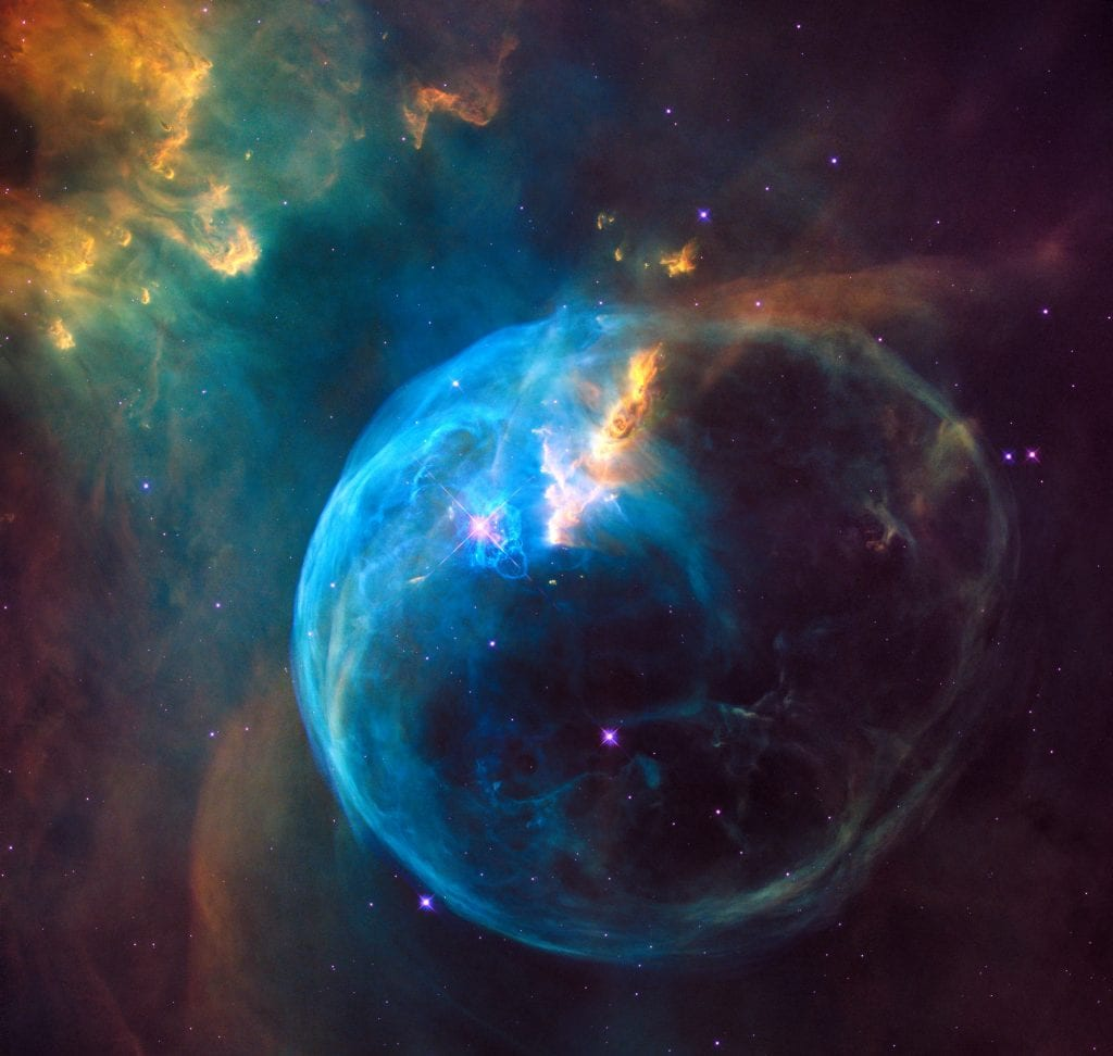 Bubble Nebula NGC 7635 Universe Space Photo Picture Image