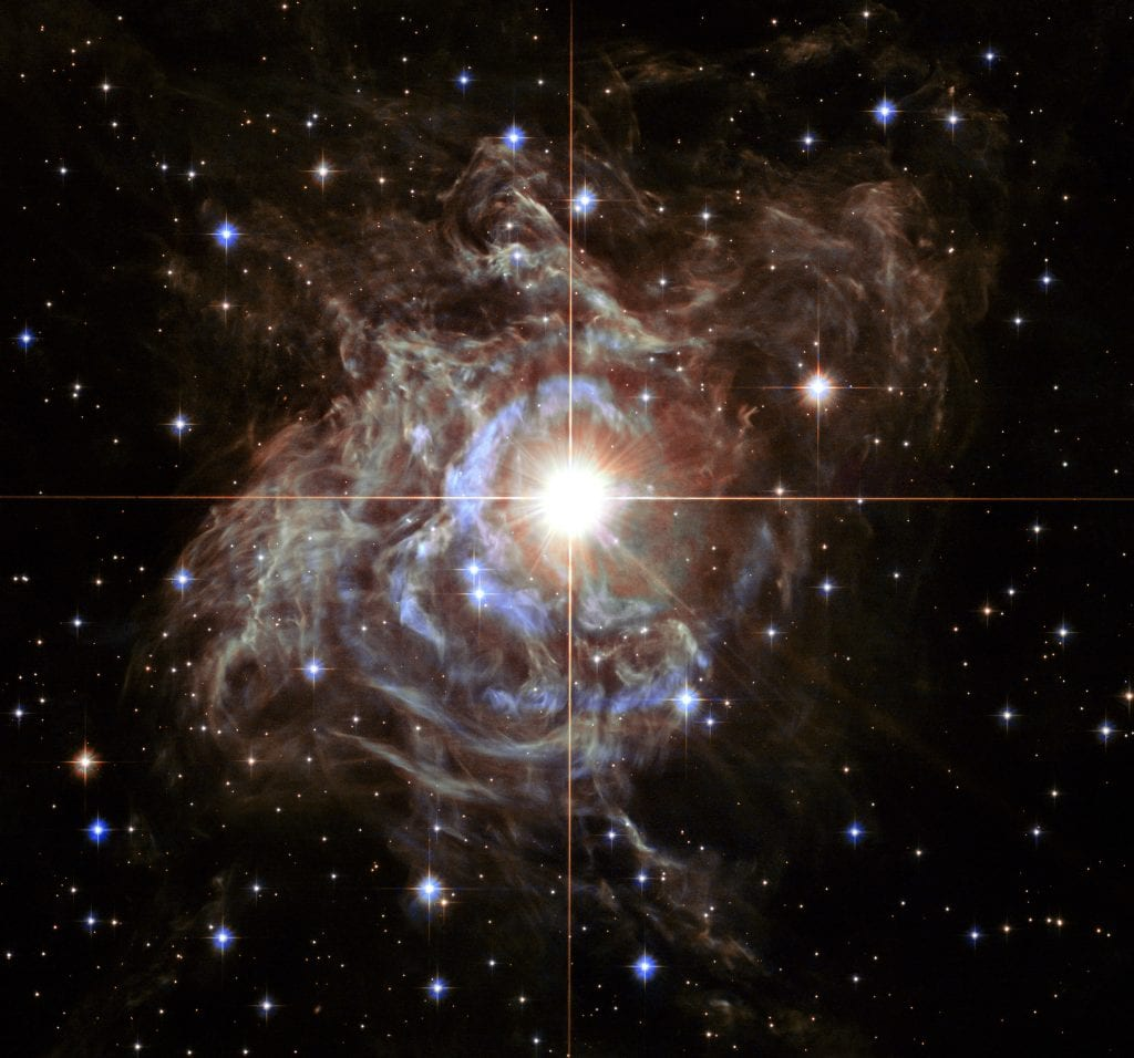 Cepheid Variable Star RS Puppis Universe Space Photo Picture Image