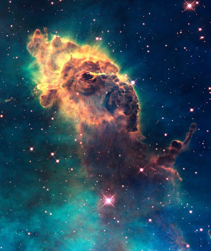 ET Nebula in Constellation Carina Universe Space Photo Picture Image