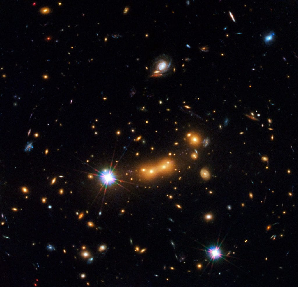 Galaxy Cluster Magnificence J0647 Universe Space Photo Picture Image