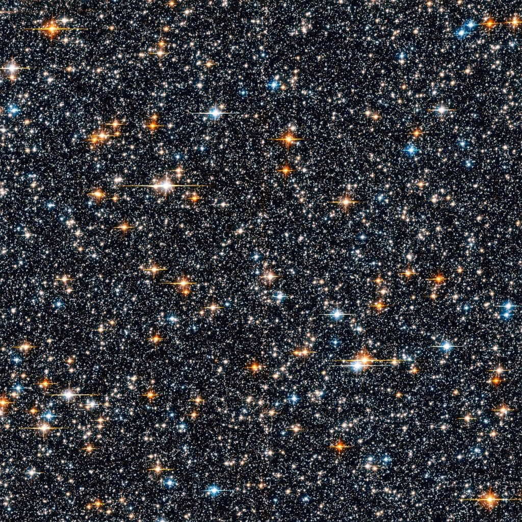 Hubble ACS Sweeps Star Field Universe Space Photo Picture Image