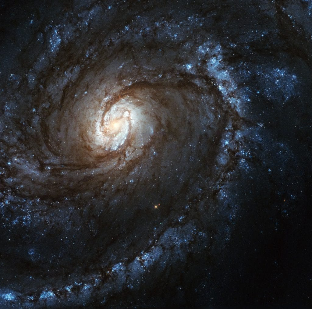 M100 Shadow Spiral Galaxy Universe Space Photo Picture Image