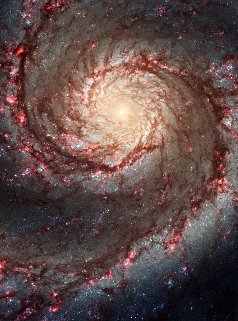 M51 Spiral Galaxy of Supernatural Dreams Universe Space Photo Picture Image