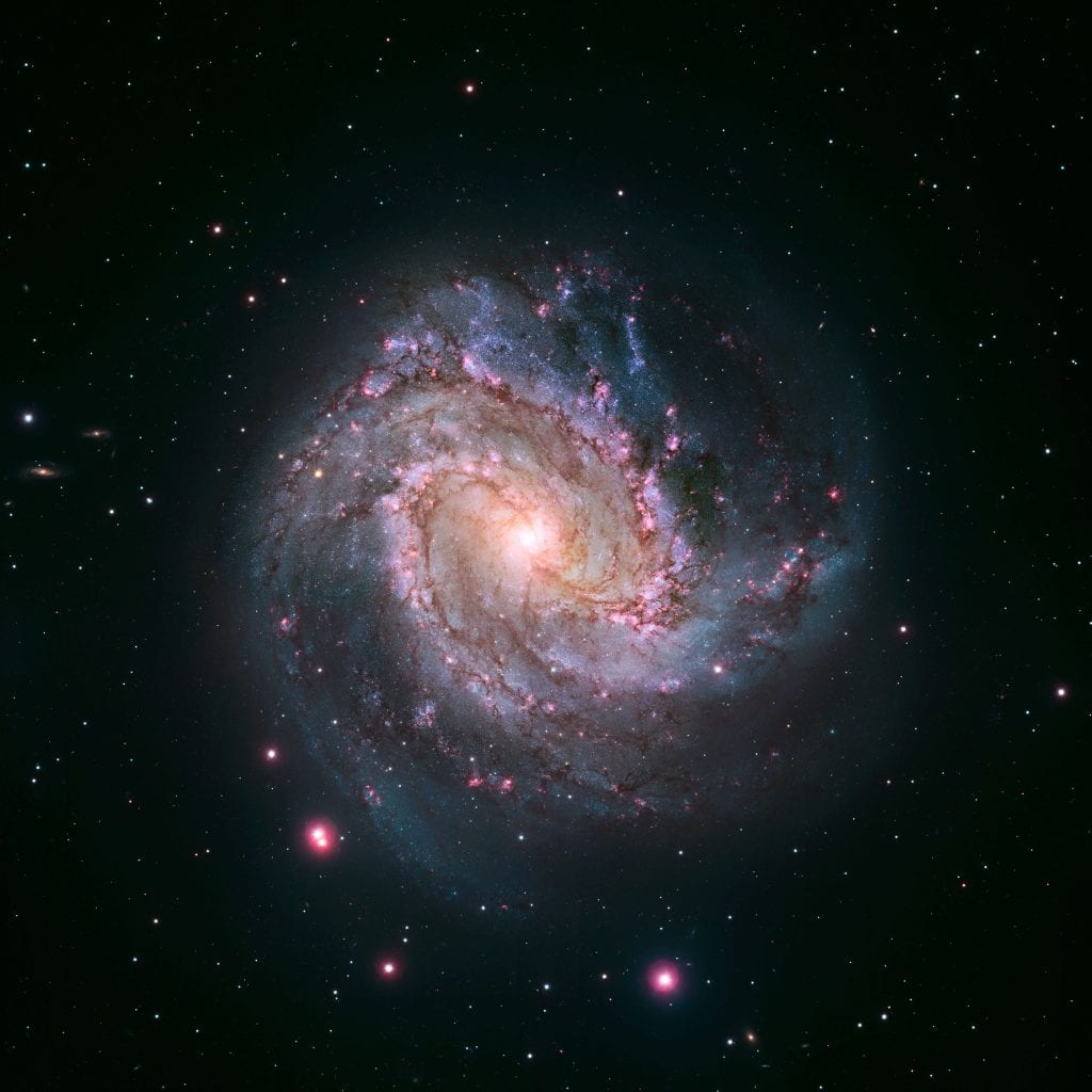 Magellan M83 Spiral Galaxy Universe Space Photo Picture Image