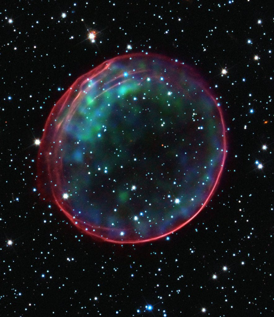 Optical X Ray Of SNR 0509 67.5 Multiwavelength Supernova Remnants Universe Space Photo Picture Image