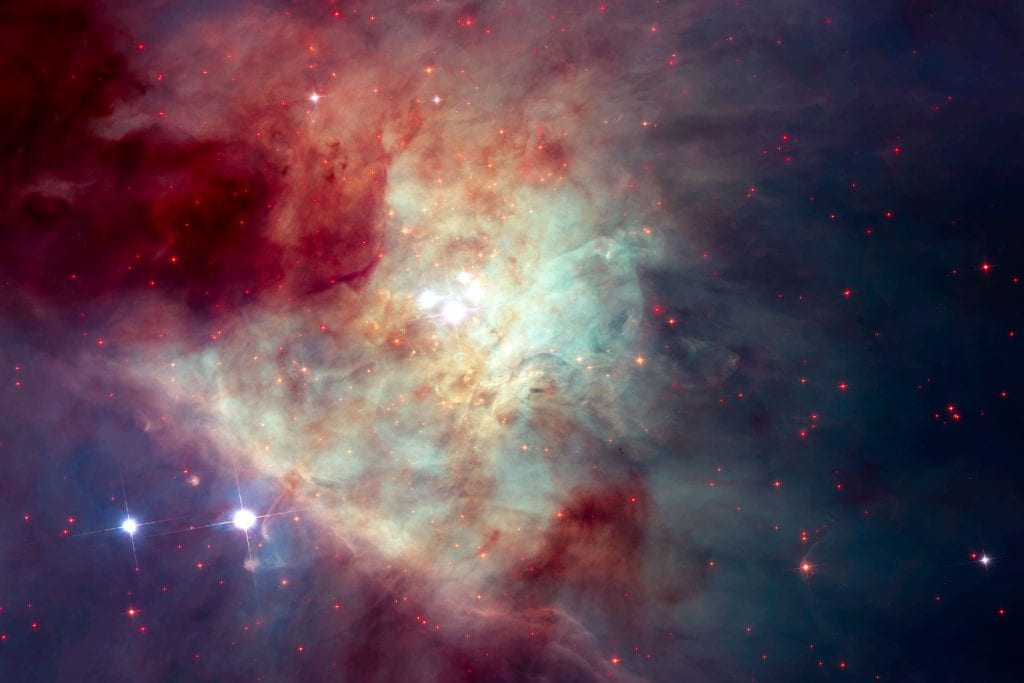Orion Nebula Gas Clouds Universe Space Photo Picture Image