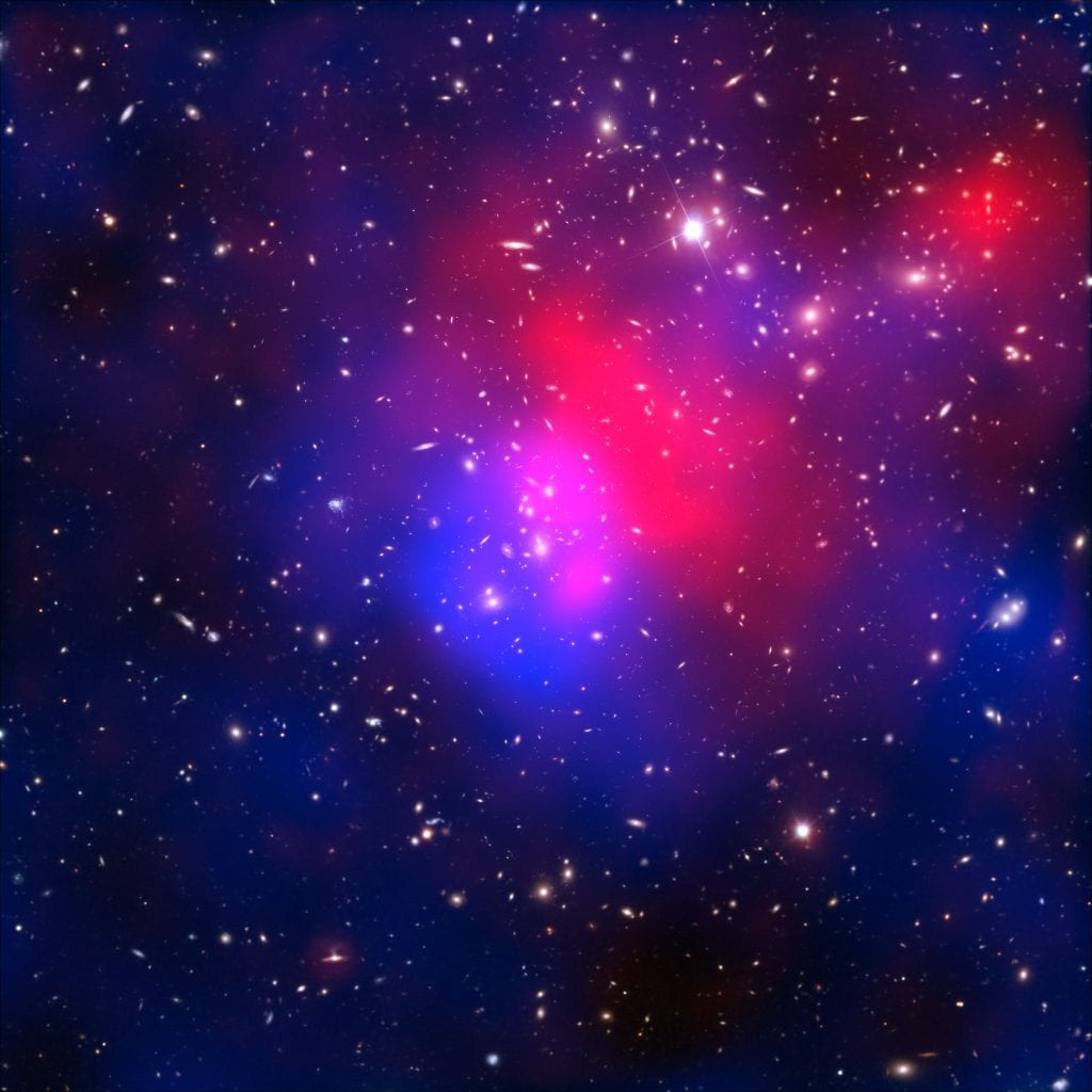 Pandoras Dark Matter Galaxy Cluster Abell 2744 Universe Space Photo Picture Image