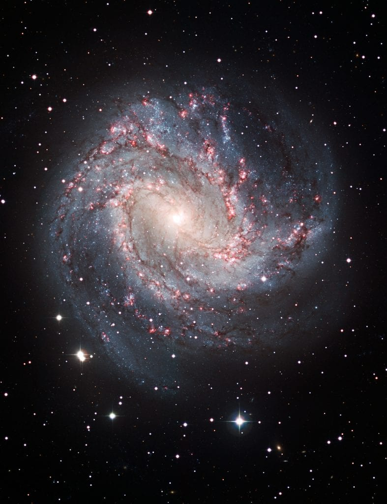 Spiral Galaxy M83 Universe Space Photo Picture Image