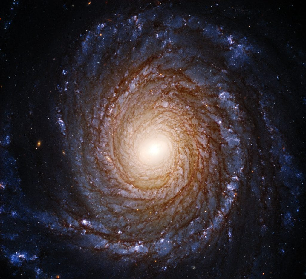 Spiral Galaxy NGC 3147 Black Hole Universe Space Photo Picture Image