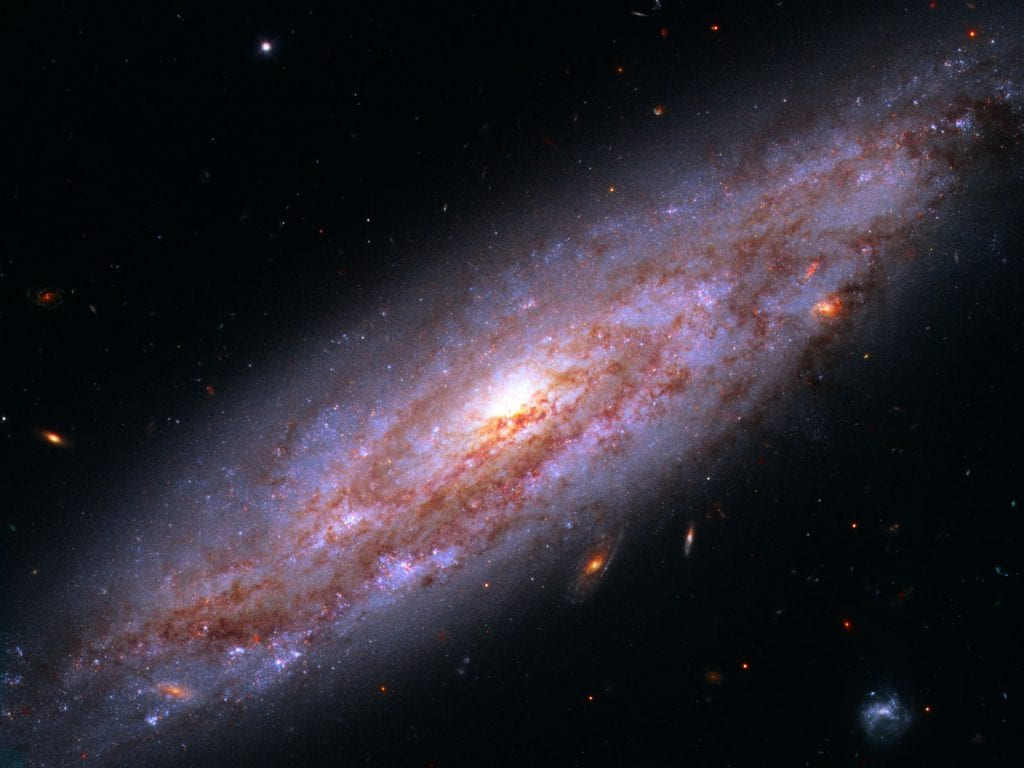 Spiral Galaxy NGC 3972 Universe Space Photo Picture Image