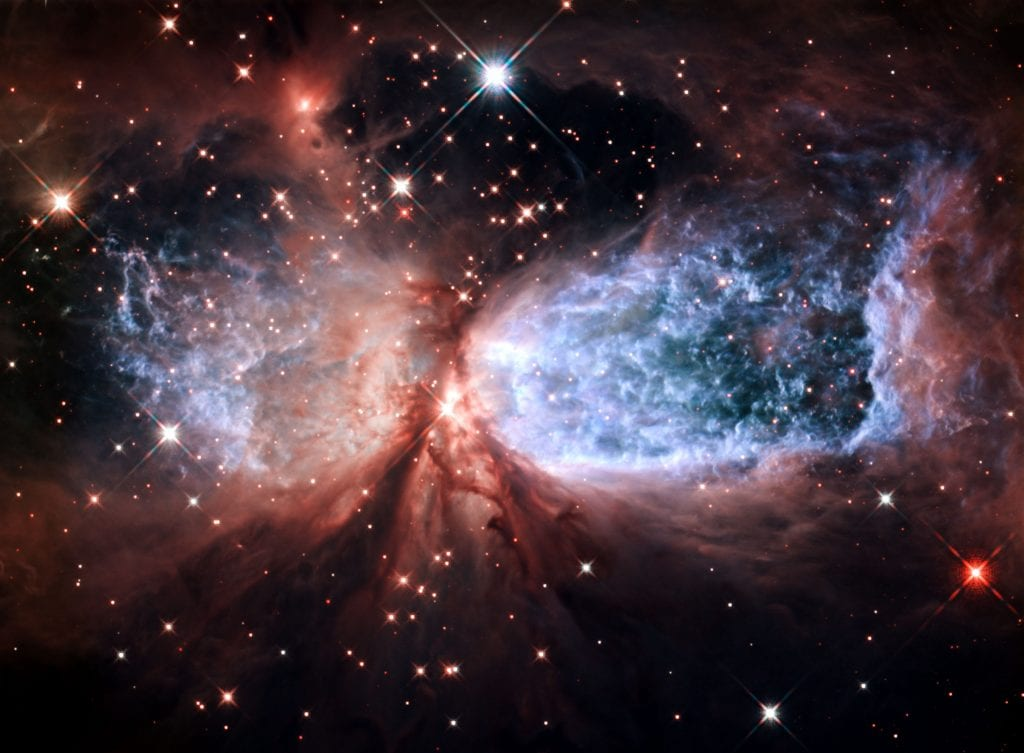 Star Forming Region Sharpless 2 106 Celestial Snow Angel Reflection Nebula Universe Space Photo Picture Image
