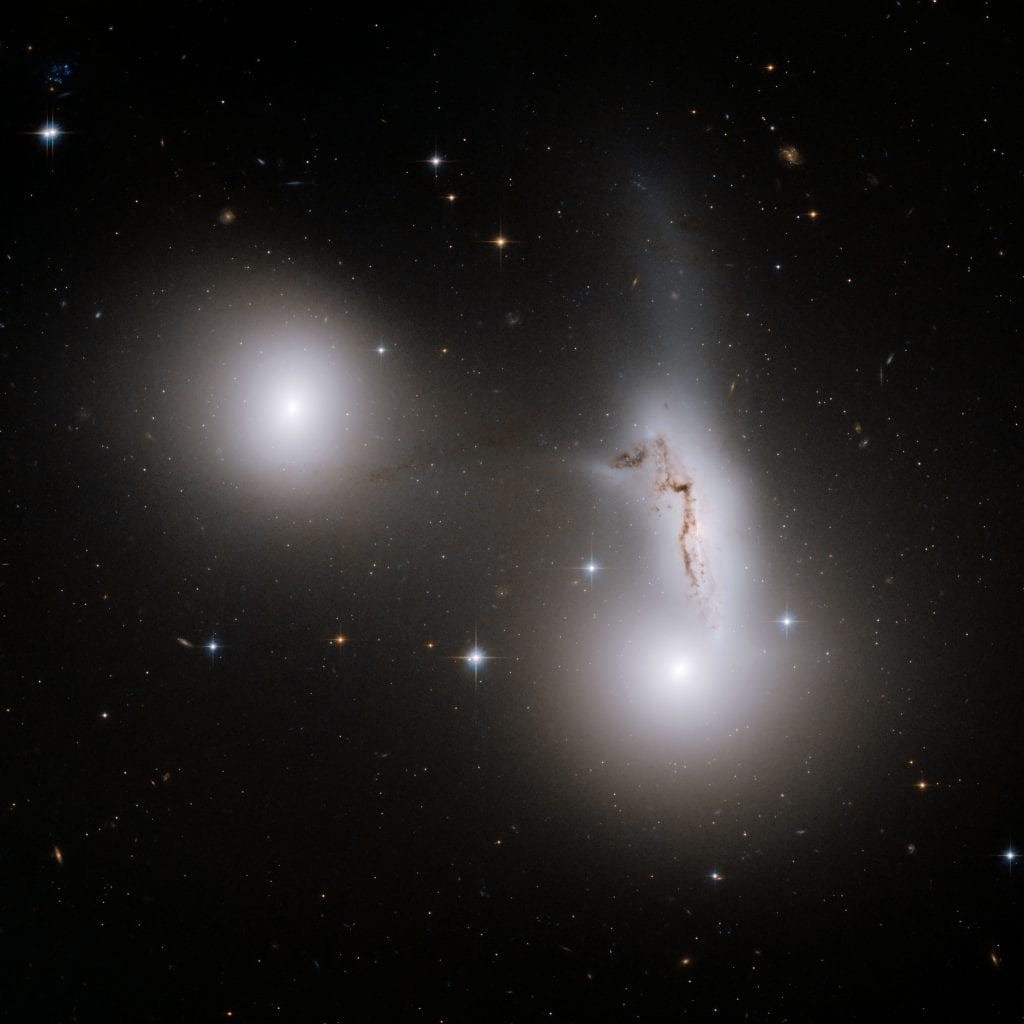 Trio of Galaxies Universe Space Photo Picture Image