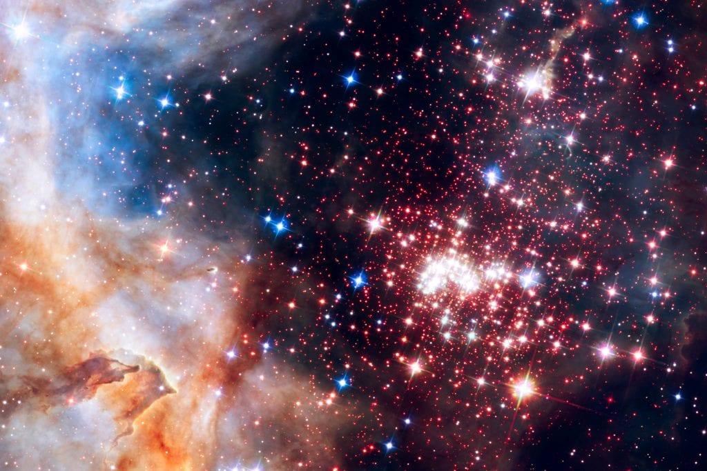 Westerlund II Star Cluster Nebula Alpha Universe Space Photo Picture Image