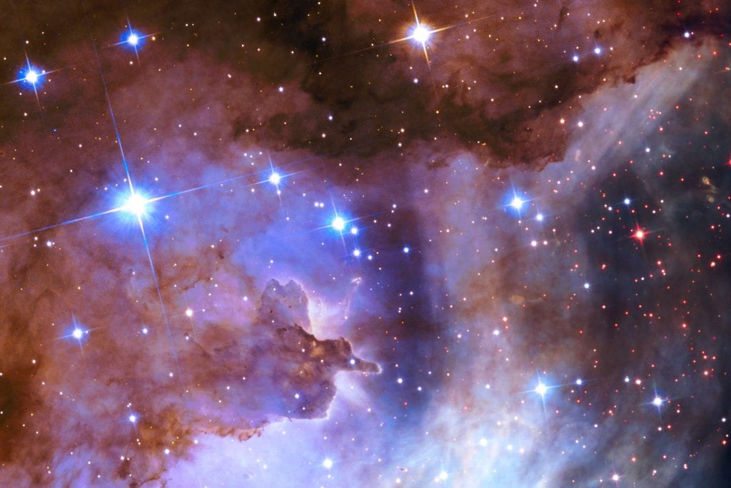 Westerlund II Star Cluster Nebula Beta Universe Space Photo Picture Image