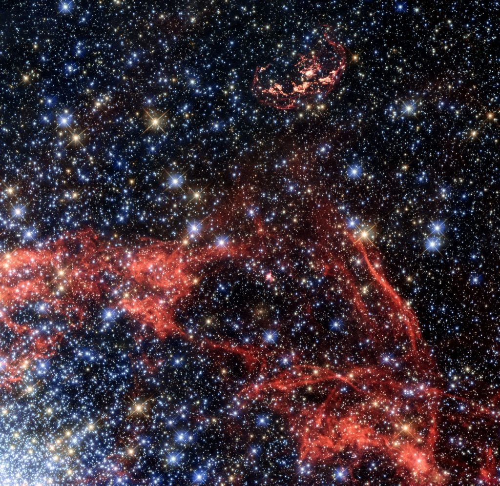 Wispy Remains of Supernova Explosion Universe Space Photo Picture Image