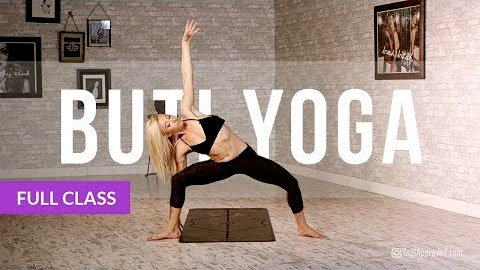 BUTI YOGA with Bizzie Gold Abdominal Activation Spiral Structure Technique Full Class