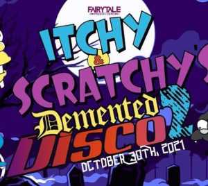 Itchy and Scratchys Demented Disco 2 Rave Event mec thumb 300 268